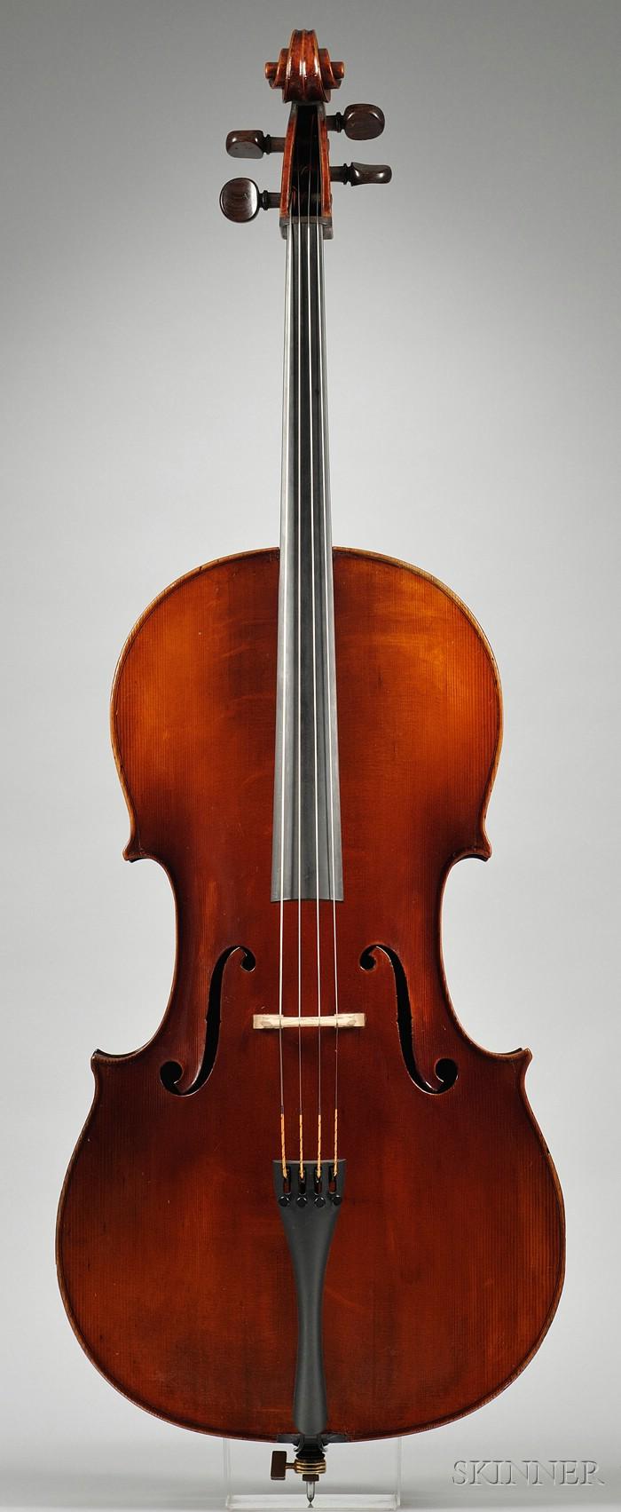 French Violoncello, Emile Laurent, Brussels, c. 1900