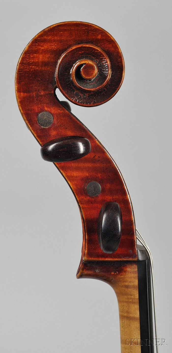 French Violoncello, Emile Laurent, Brussels, c. 1900