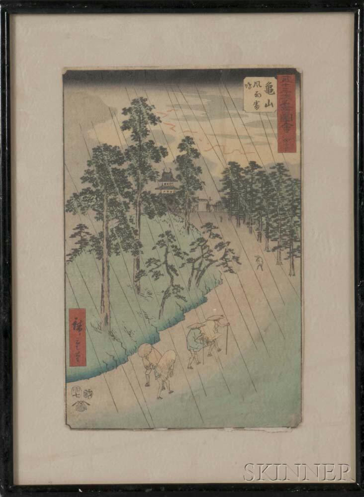 Utagawa Hiroshige (1797-1858), Kameyama