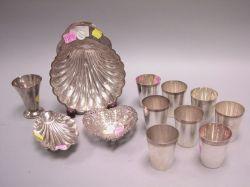 Twelve Sterling Silver Items