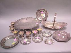Fifteen Sterling Silver Table Items