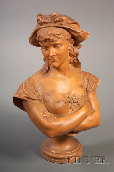 Terra Cotta Bust of Dorine
