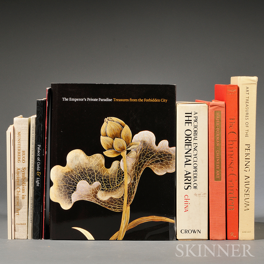 Eleven Books On Chinese Art Sale Number 2783t Lot Number 1500