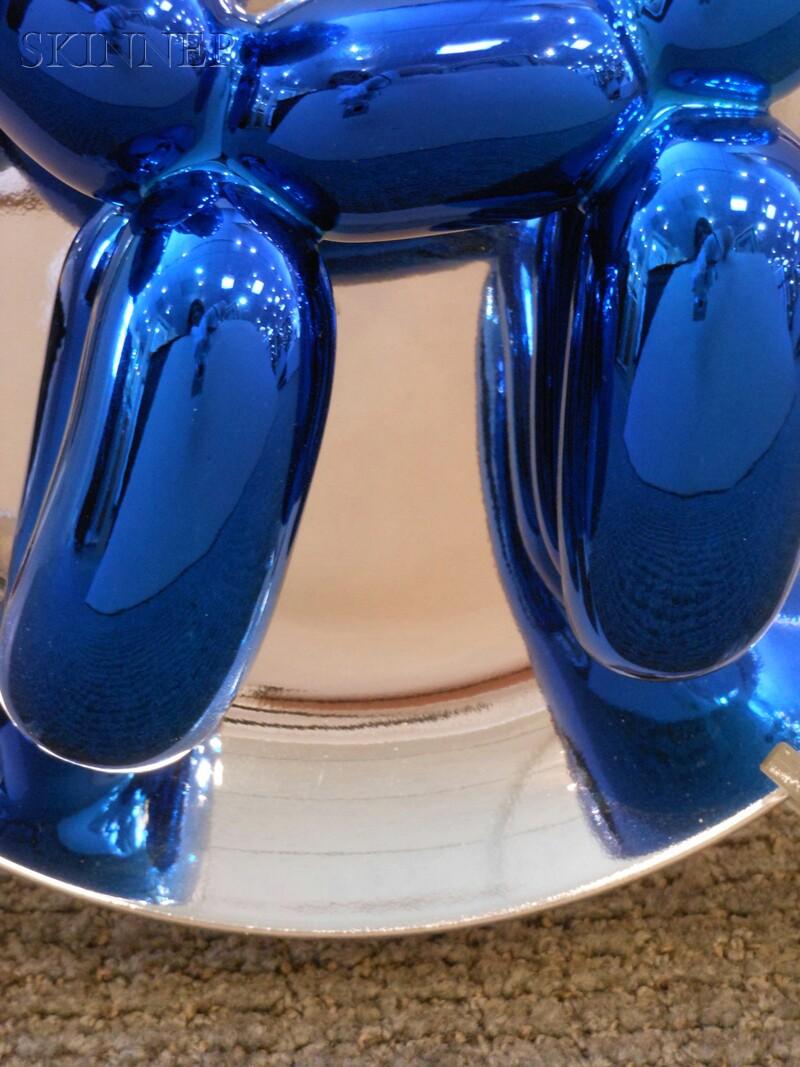 Jeff Koons (American, b. 1955)      Balloon Dog (Blue)
