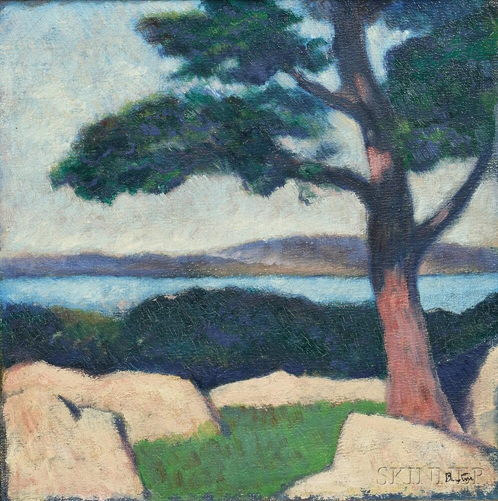 Thomas Hart Benton (American, 1889-1975)      Hudson River View