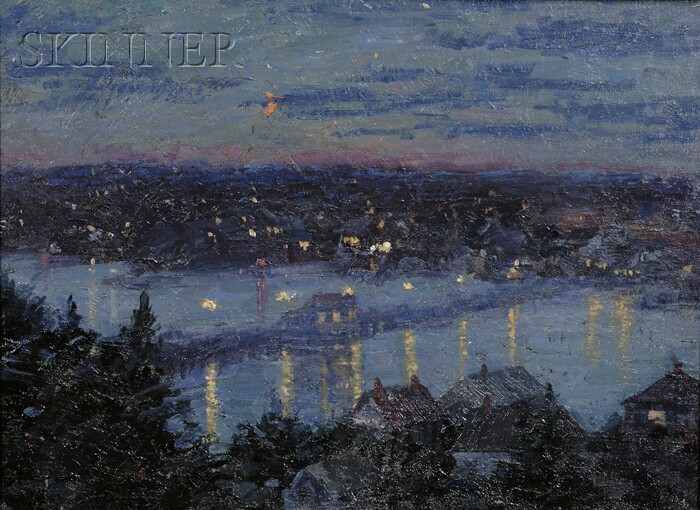 Attributed to Isabelle H. Ferry (American, 1865-1937)      Evening Glow