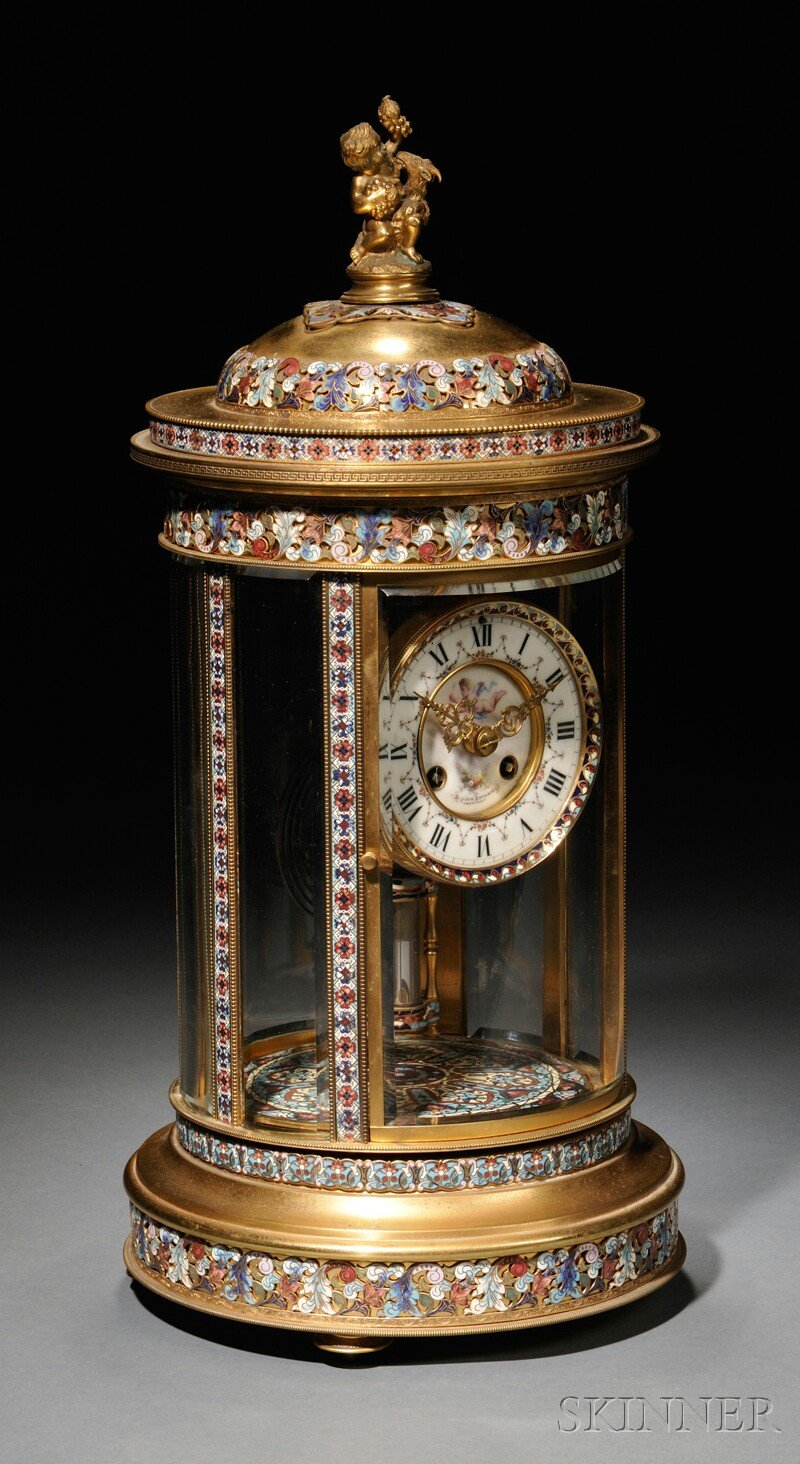 Antique English and French Clocks   Skinner Auctioneers ...
