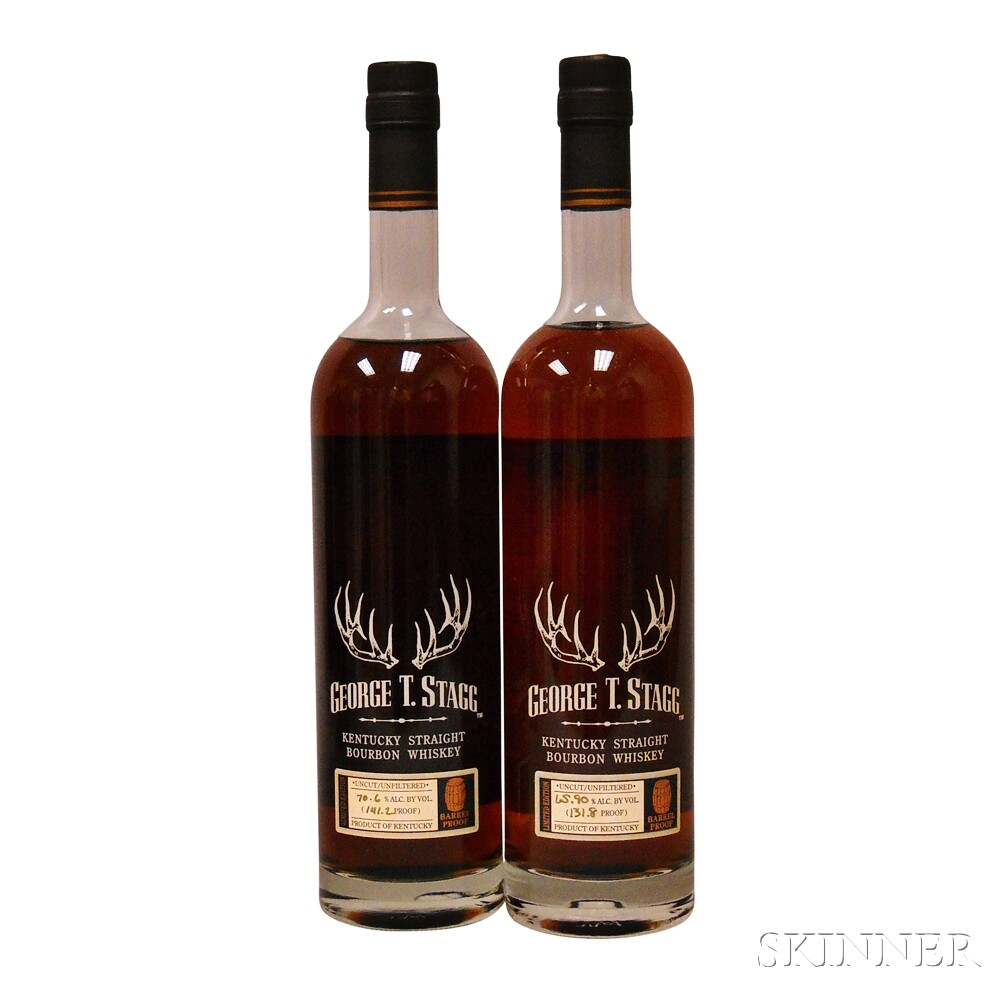 Buffalo Trace Antique Collection George T Stagg Horizontal, 2 750ml bottles