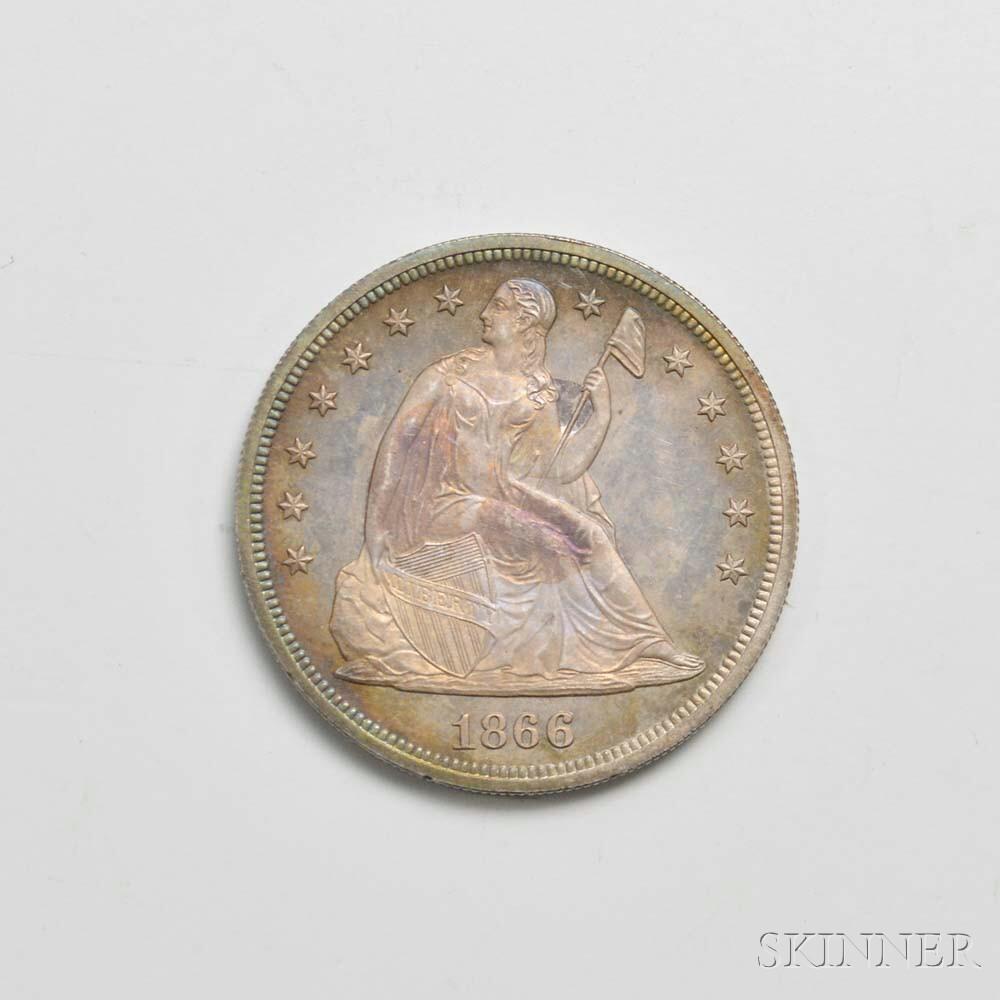 1866 Seated Liberty Proof Dollar