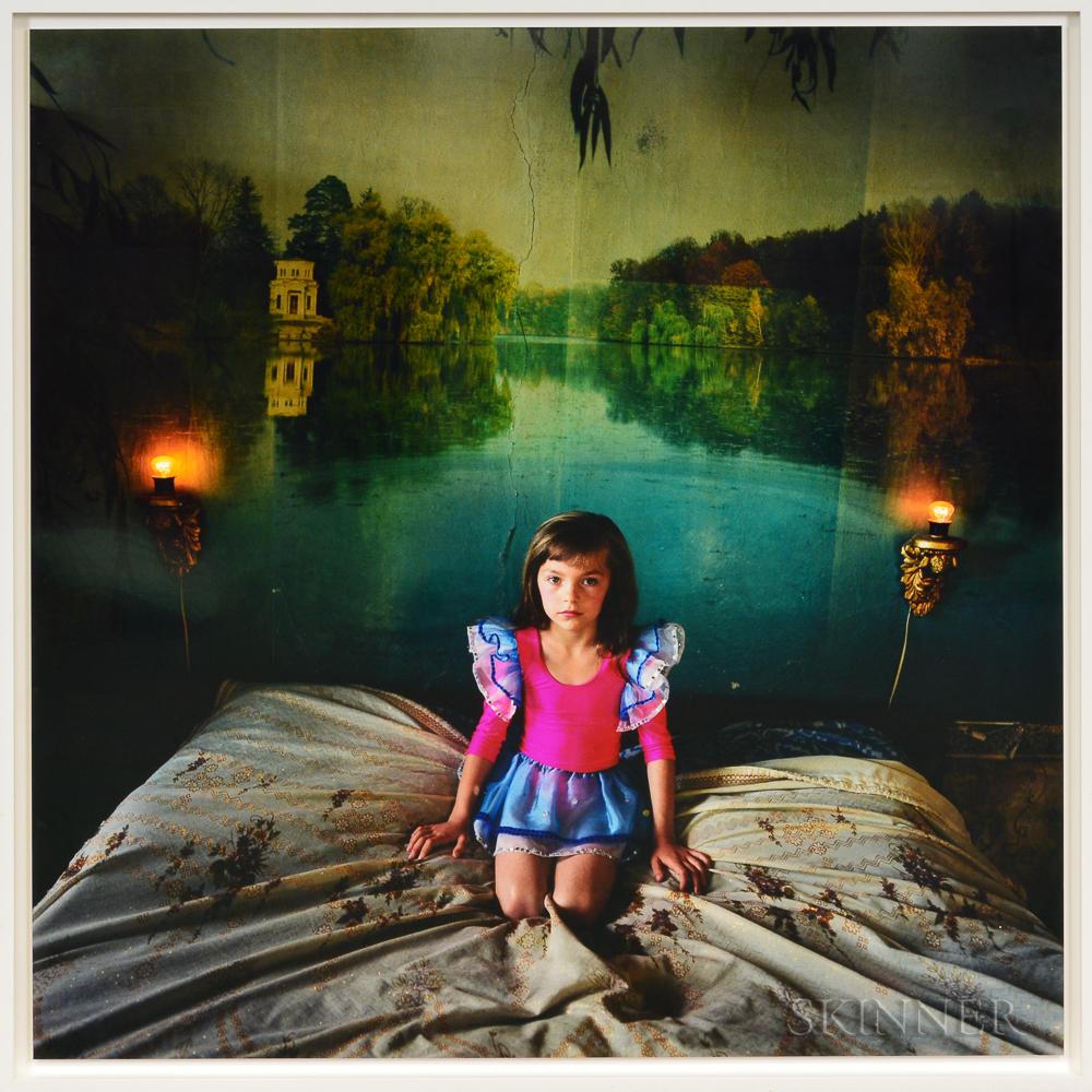 Michal Chelbin (Israeli, b. 1974)      Alona in the Bedroom, Ukraine