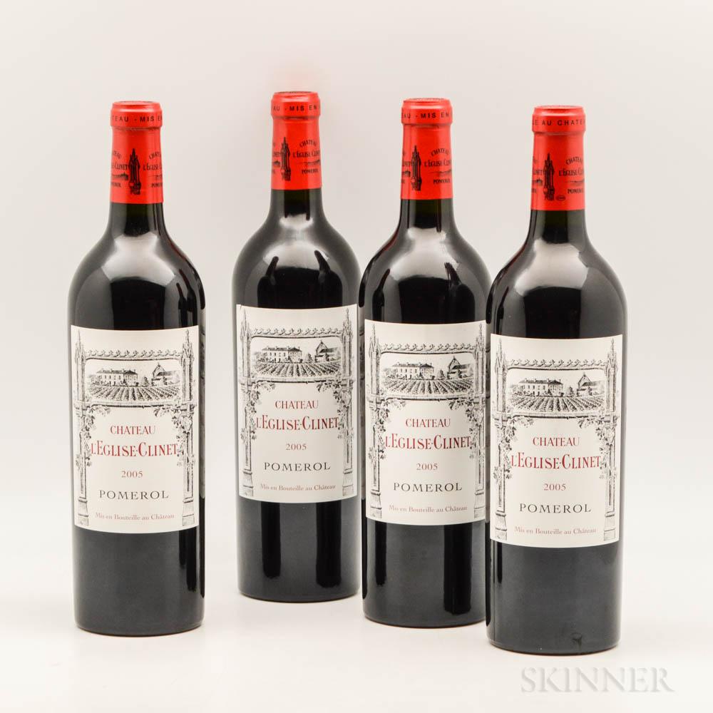 Chateau LEglise Clinet 2005, 4 bottles