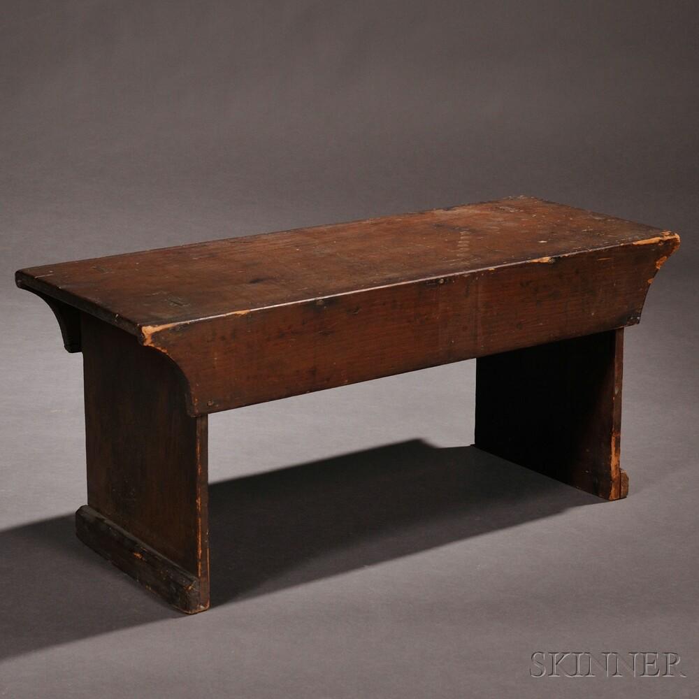 Shaker Pine Bench
