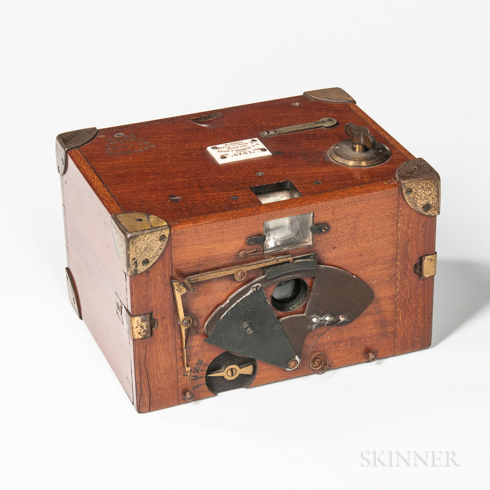 "Rare H.J. Redding & Gyles ""Luzo"" Box Camera"