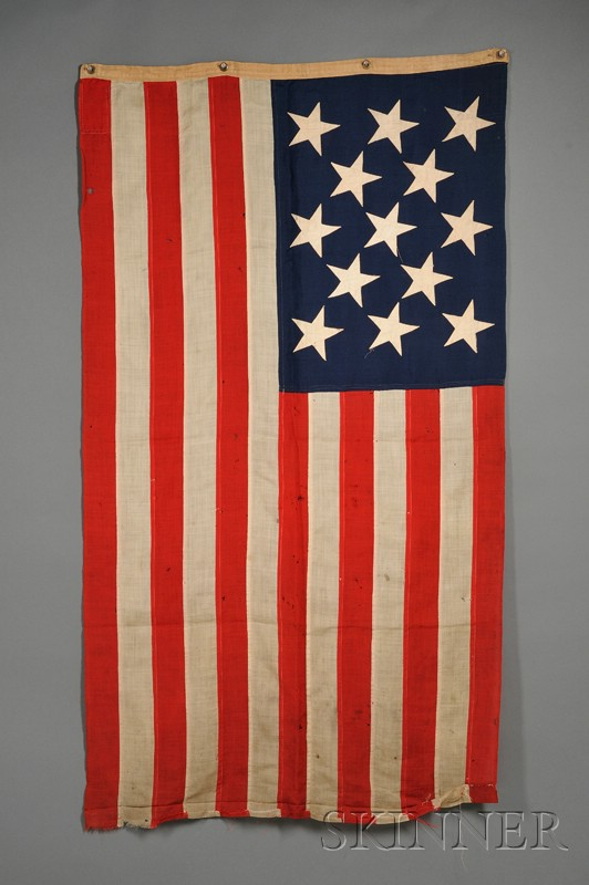 Thirteen-star American Flag