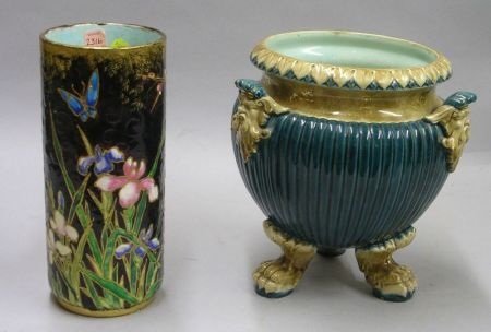Two Continental Earthenware Vessels
