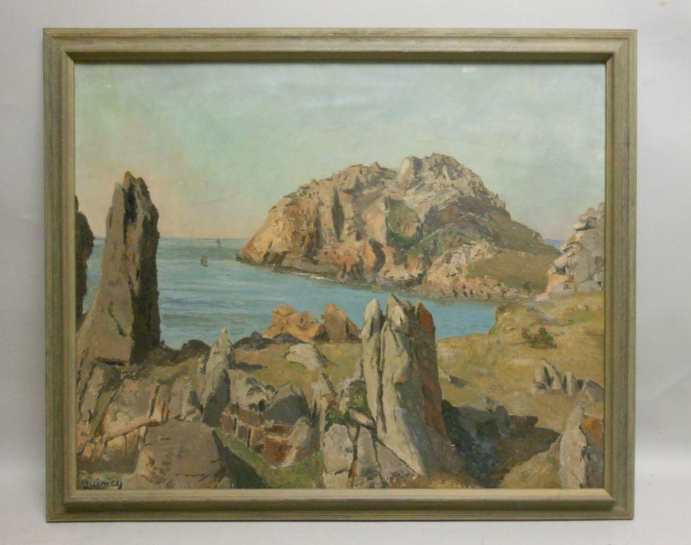 Edmund Quincy (American, 1903-1997)      Rocky Coast