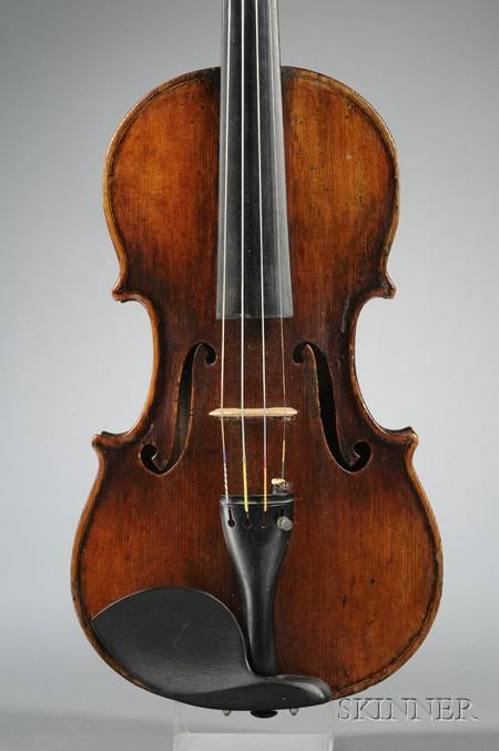 English Violin, G.A. Chanot, Manchester, 1880