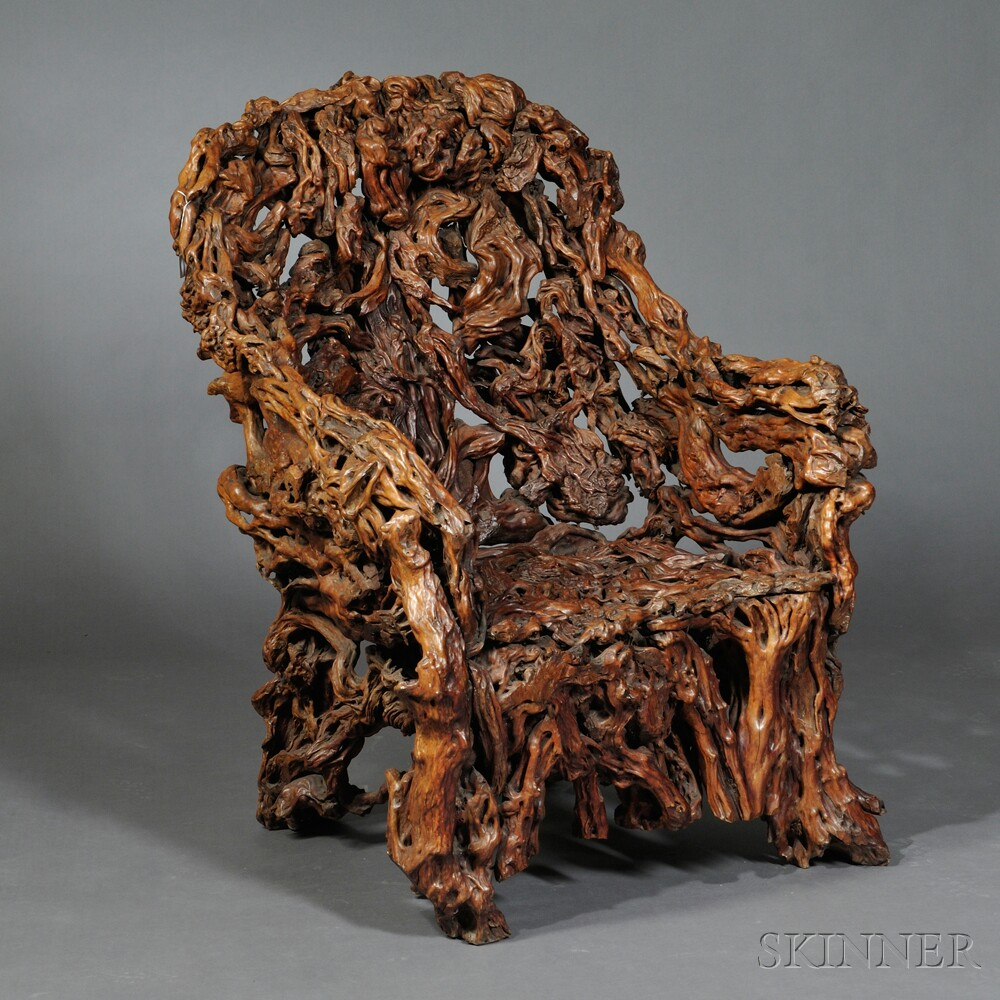 Massive Rootwood Armchair