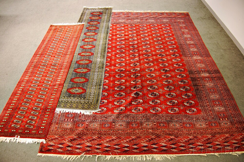Three Oriental Rugs