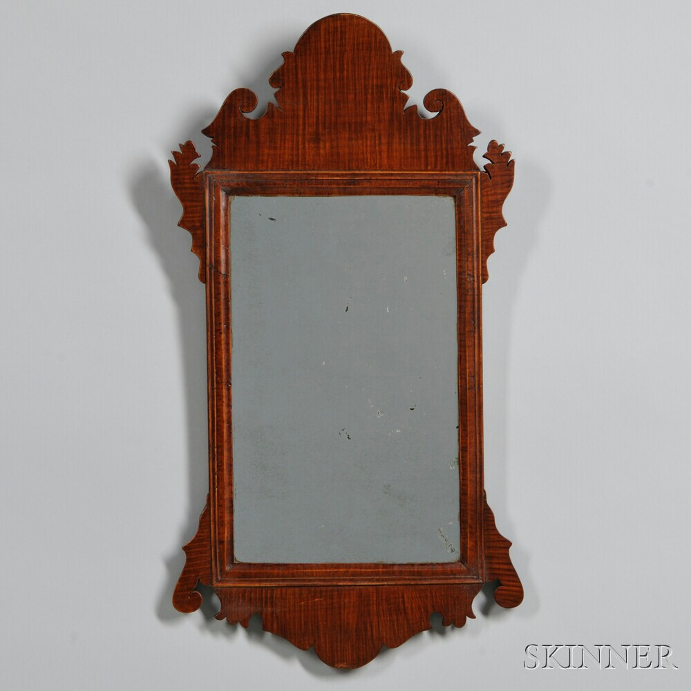 Tiger Maple Mirror Sale Number 2880b Lot Number 297