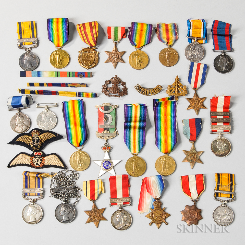 Group of Commonwealth Military Medals