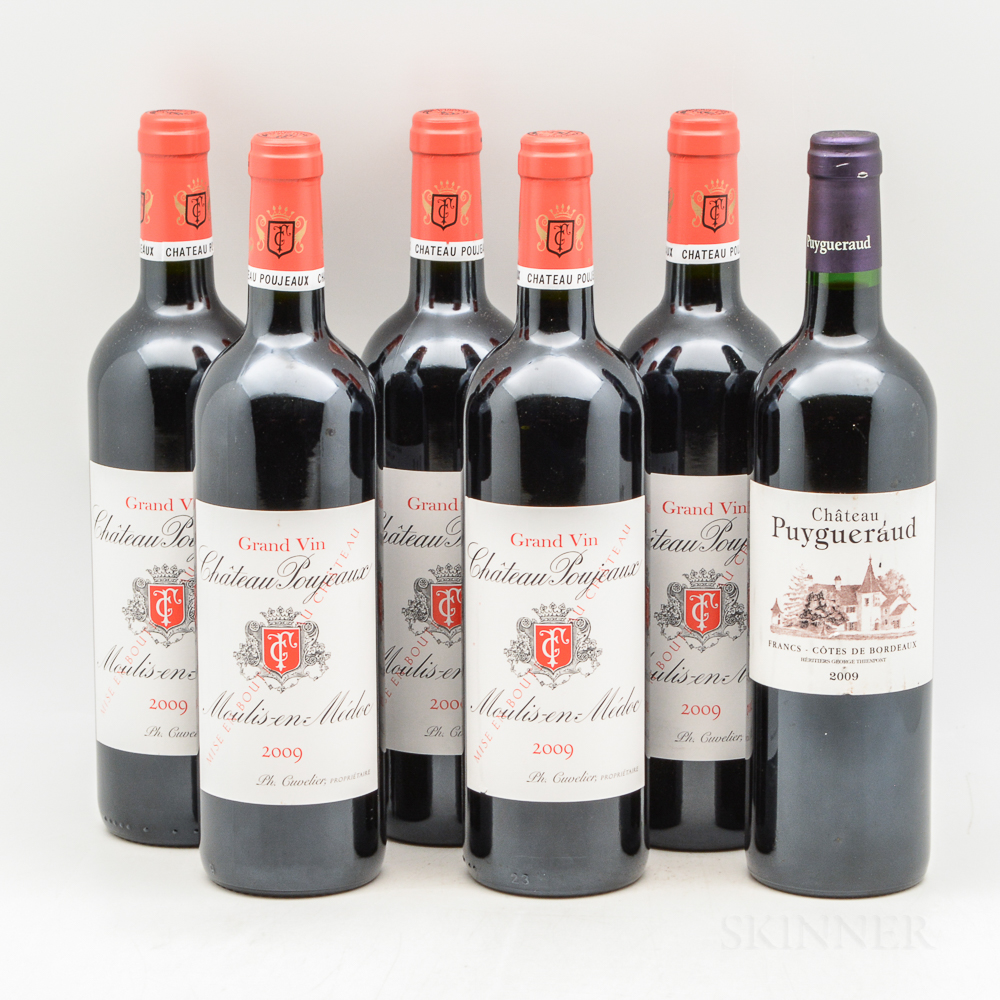 Mixed Bordeaux, 6 bottles