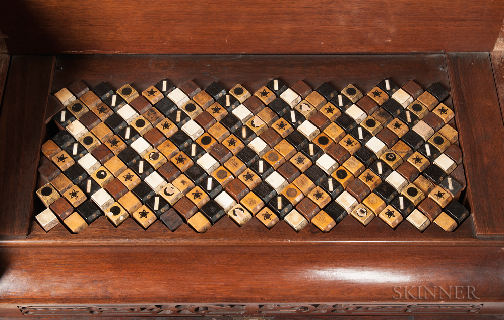 American Enharmonic Harmonium, James Paul White, Springfield, 1883