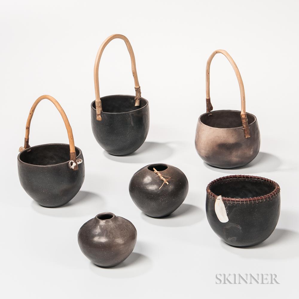 David Ellis Raku Art Pottery