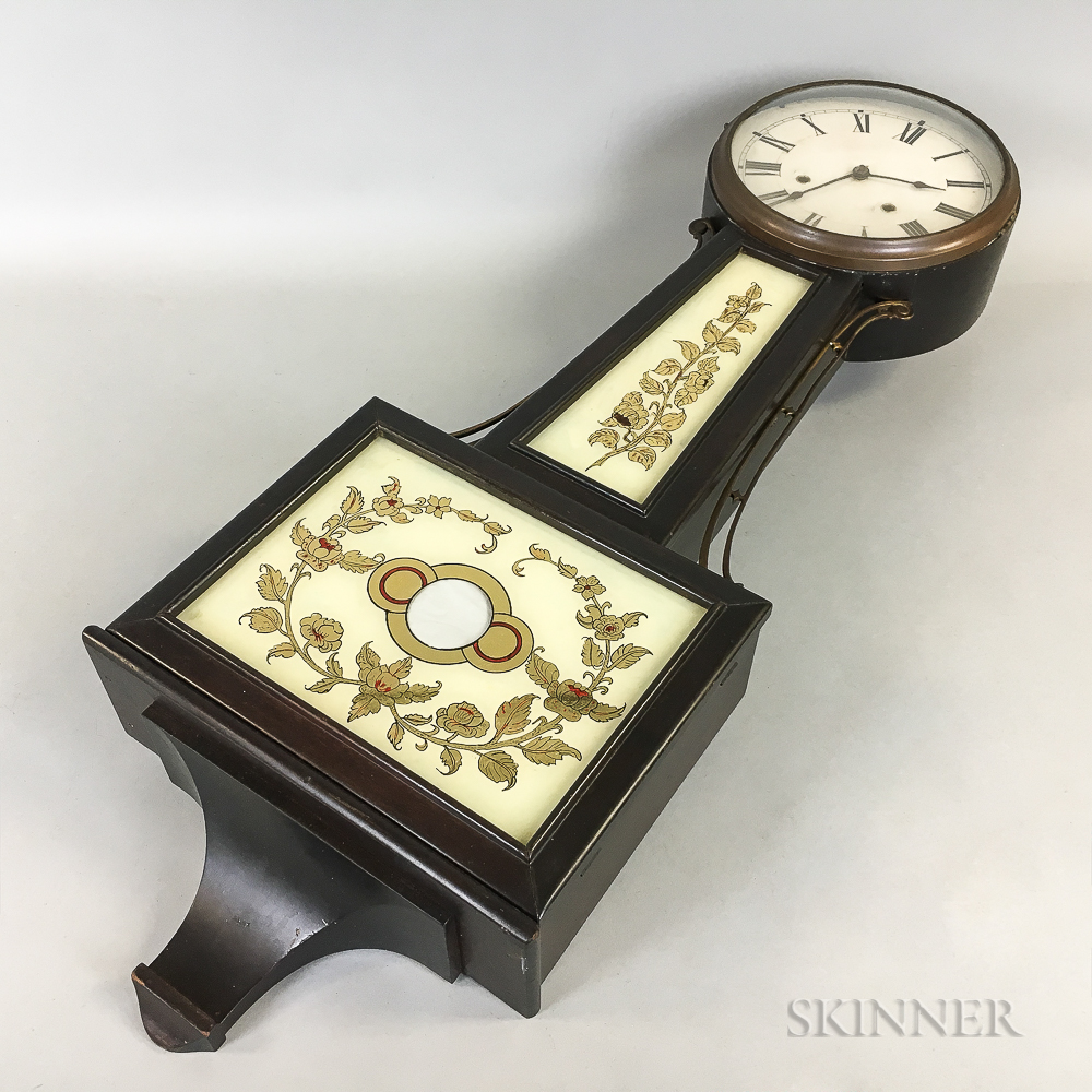 New Haven Clock Co. Patent Timepiece