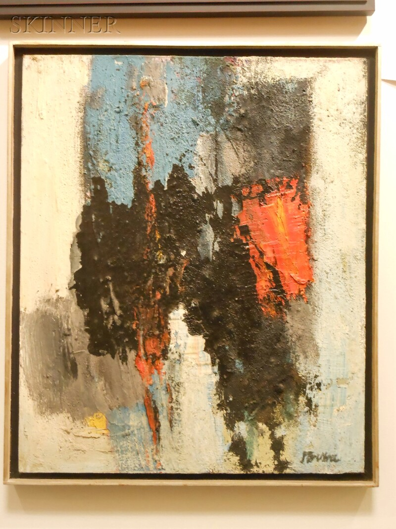 Peter Busa (American, 1914-1985)      Embullient Chord