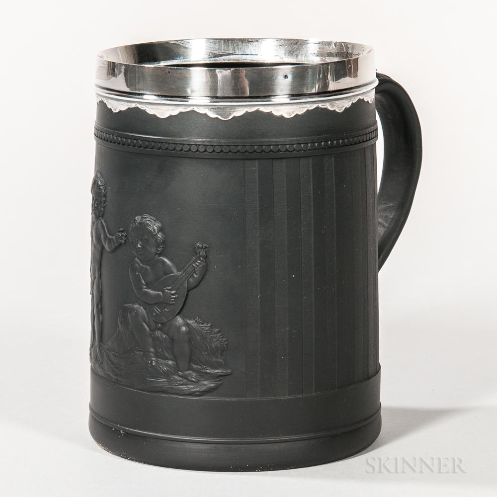 Wedgwood Black Basalt Mug