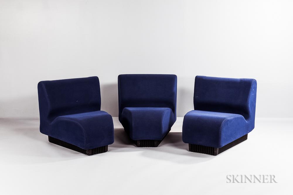 Don Chadwick for Herman Miller Three-piece Modular Sofa