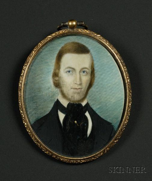 Portrait Miniature of a Bearded Gentlemen