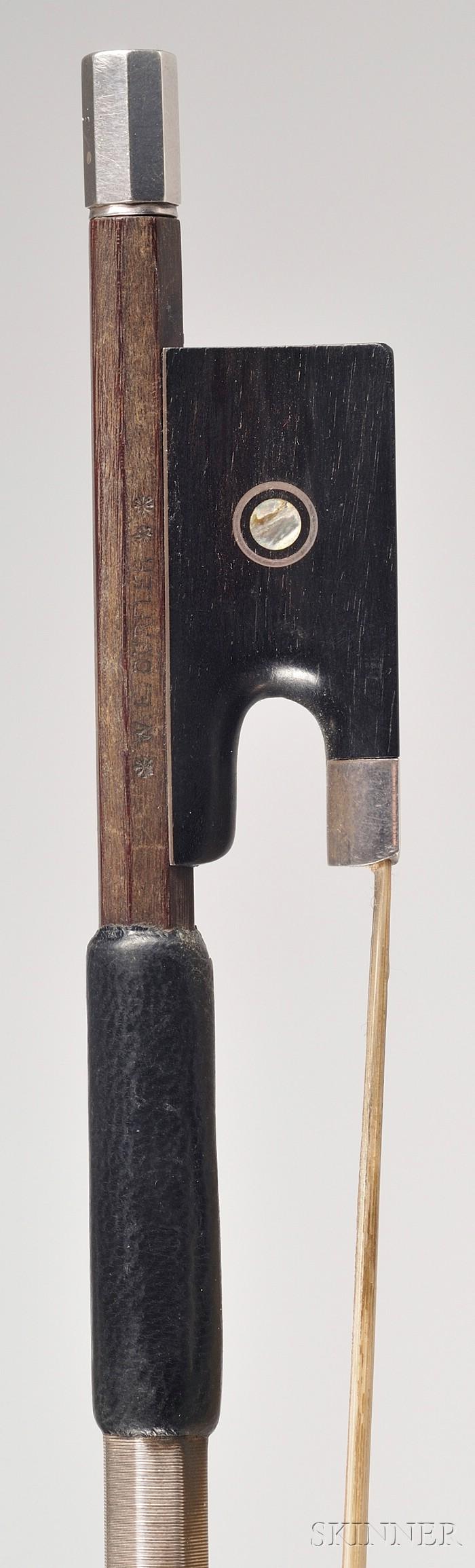 Silver Mounted Violin Bow, Egid Dorfler