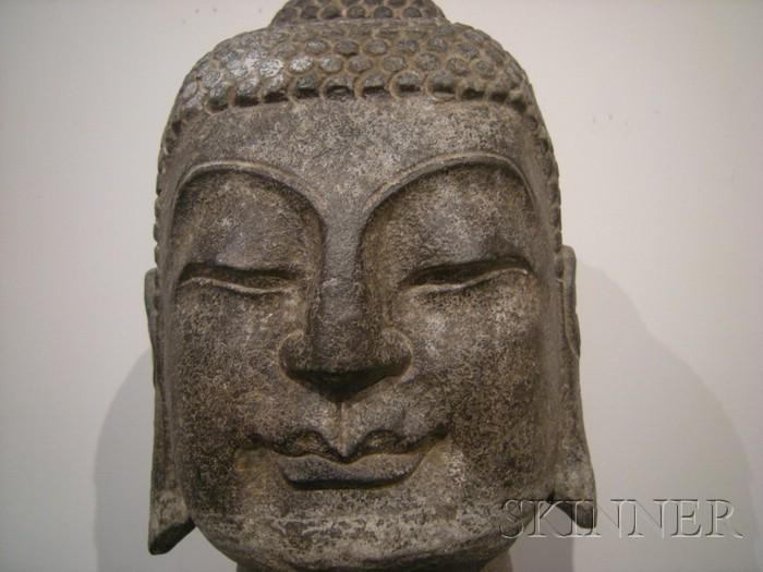 Stone Buddha's Head
