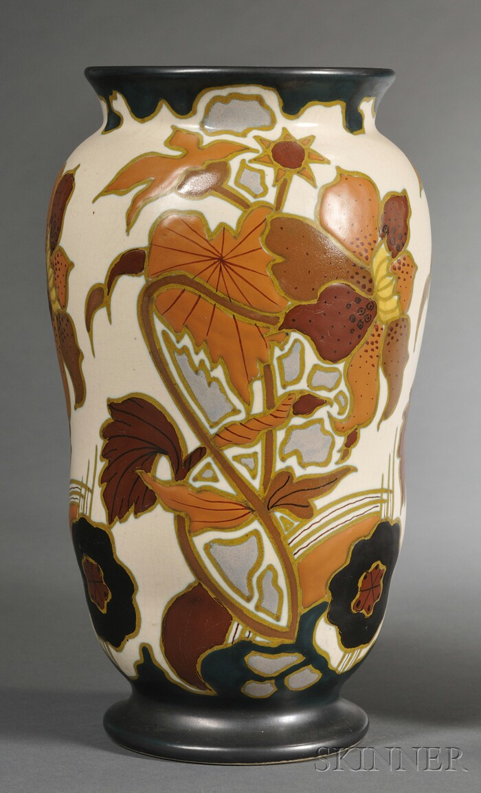 Gouda Semi-matte Glaze Pottery Vase