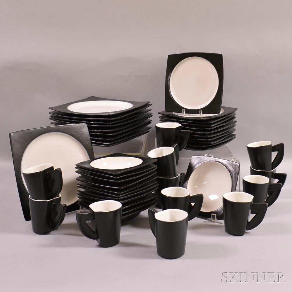 HSU Ceramic Dinner Service for Ten