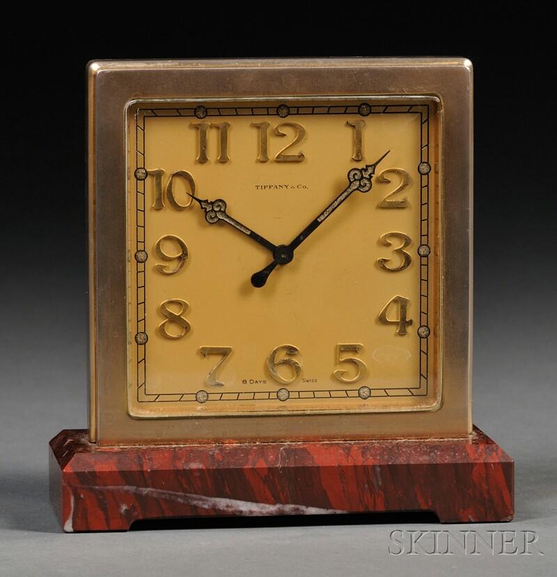 Art Deco Tiffany & Co. Table Clock
