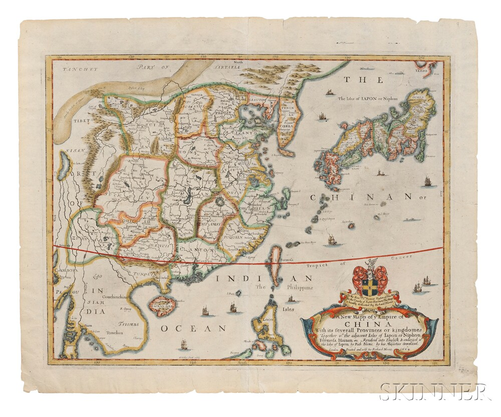 China, Korea, Japan. A New Mapp of ye Empire of China