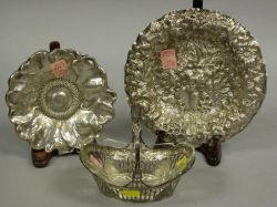 Three Small Sterling Tableware Items