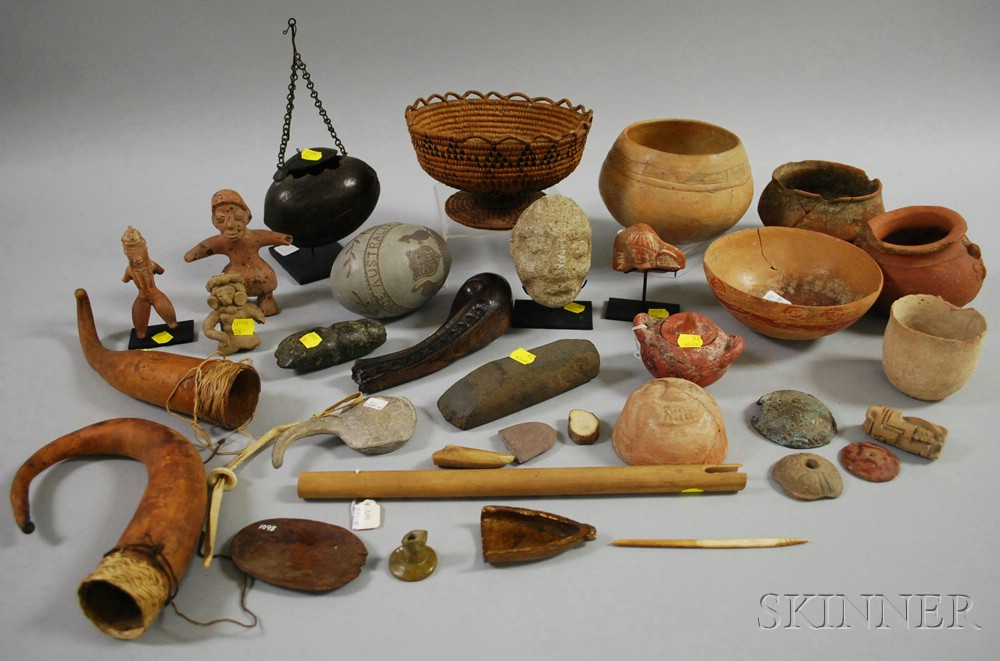 Group of Mixed Ethnographic Items