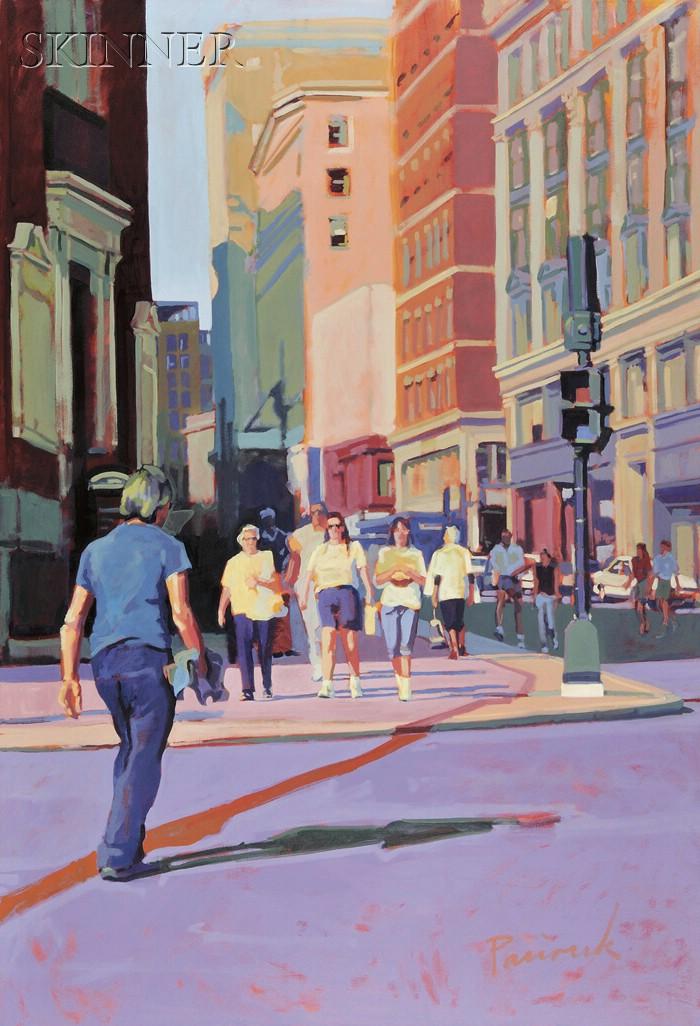 Nick Paciorek (American, 20th/21st Century)      Tremont Street, Boston