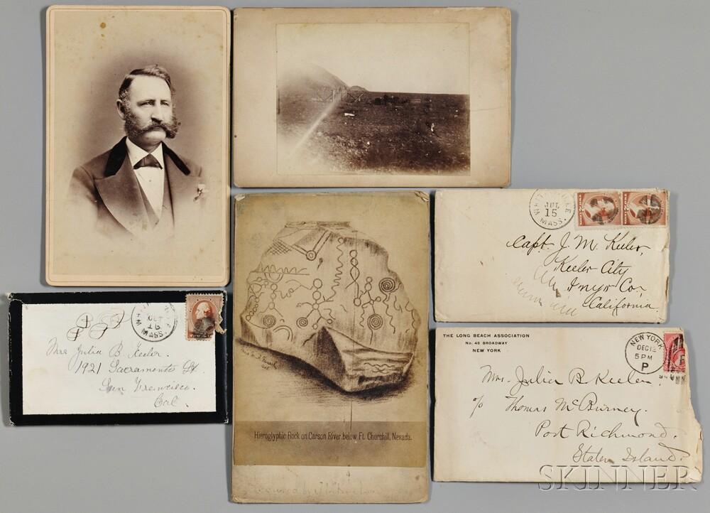 Keeler, Julius Melathene (1825-1890) Archive of Family Photographs and Letters.
