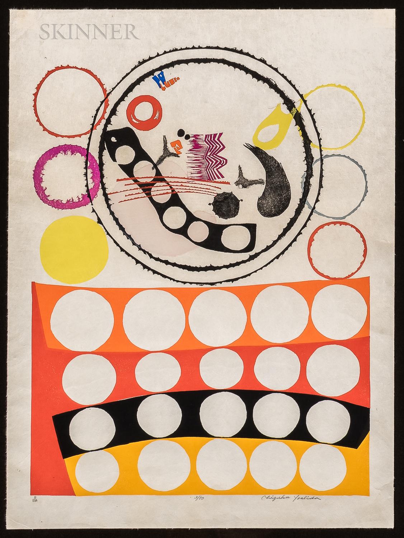 Chizuko Yoshida (Japanese, b. 1924)      Circles No. 7