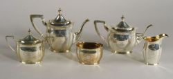 Graff, Washbourne & Dunn Sterling Five-piece Tea and Coffee Service
