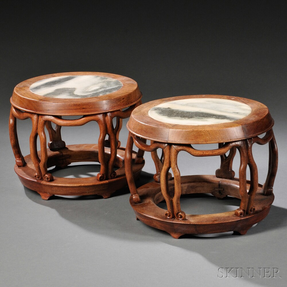Pair of Tabletop Drum Stands