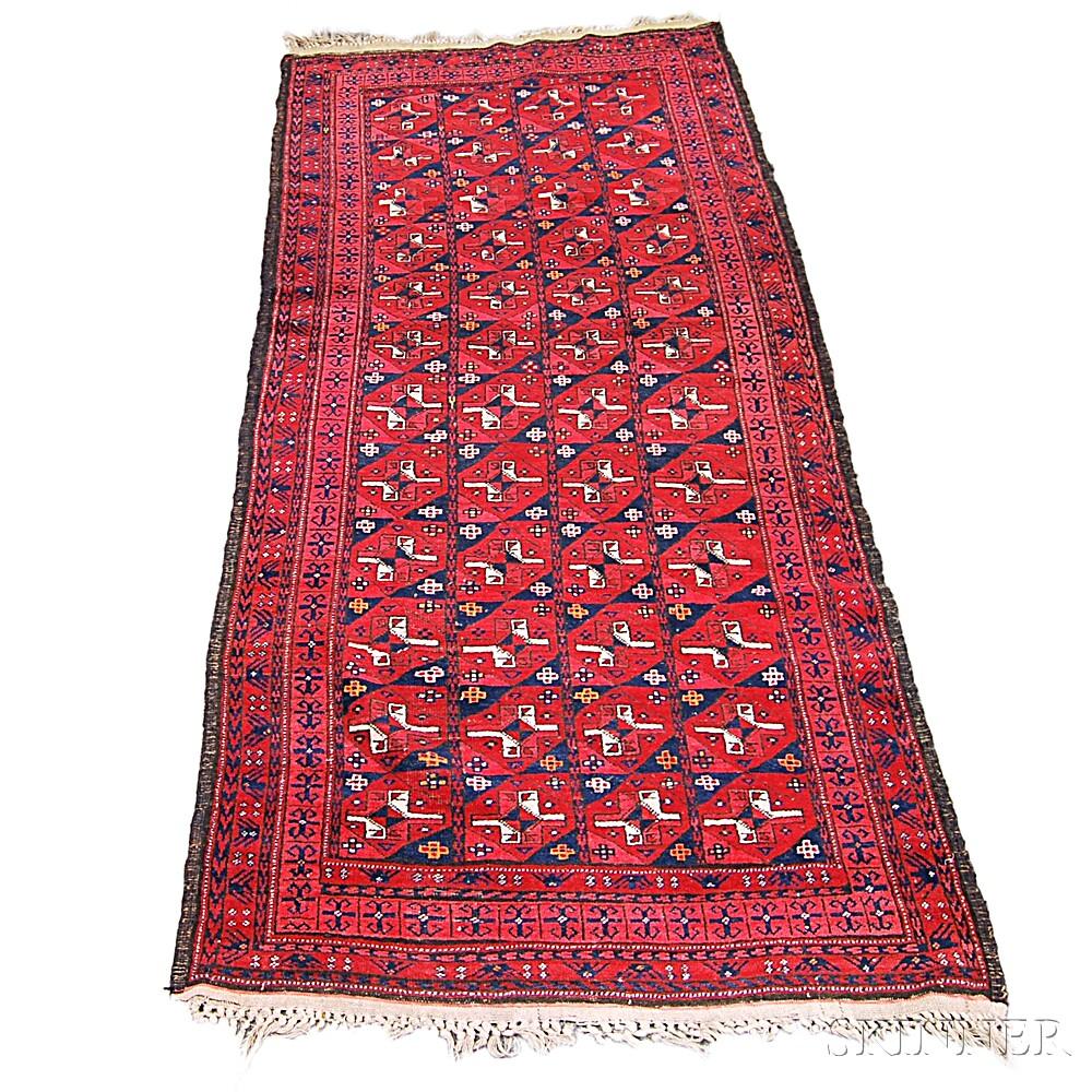 Afghan Long Rug