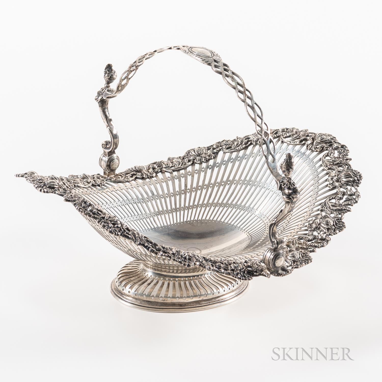Dominick & Haff Sterling Silver Basket