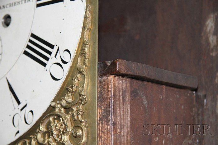 Mahogany Longcase Clock by Nathaniel Brown