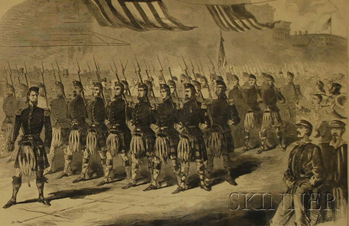 Winslow Homer, The 79th Regiment (Highlanders) New York State Militia